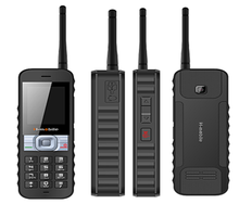 2015 China newest 4sim card mobile phone big battery 2 way radio walkie talkie cellphone