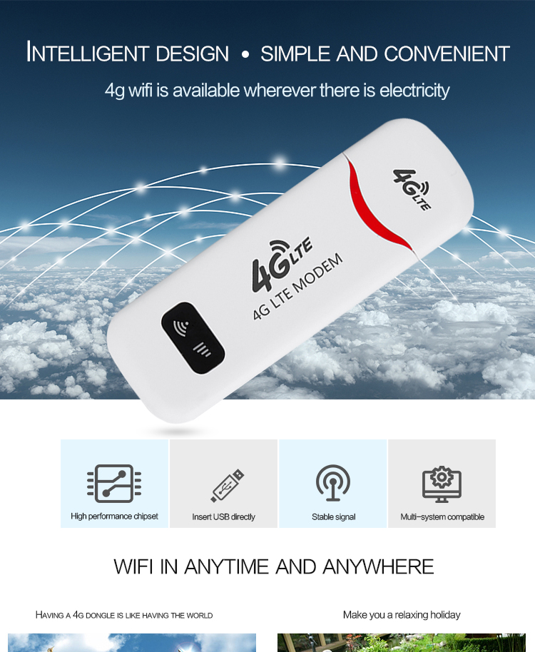 Hot sale Good quality Best price Qualcomm Android USB Modem 4g WiFi Dongle