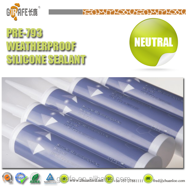 External Sealing Application Non-toxic Glass Silicone Sealant