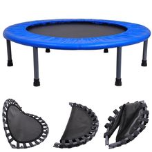"36"" Mini Trampoline Folding Rebounder Indoor Exercise Kid"