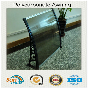 Polycarbonate aluminum awnings lowes 10 years warranty