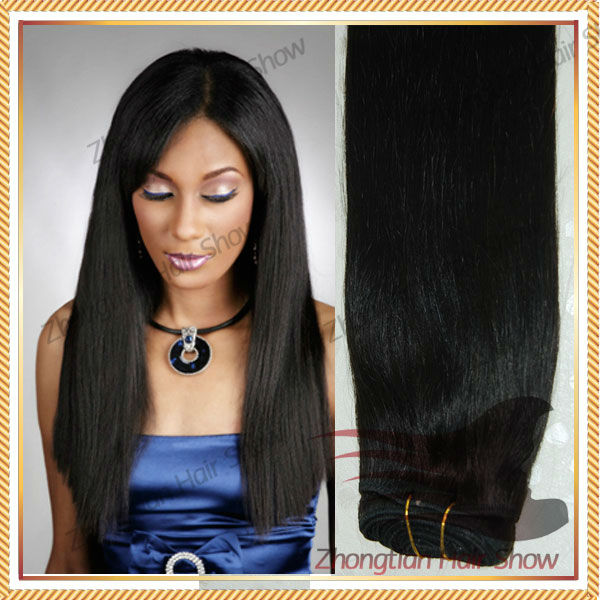 Hair Extension Remy Hair Double Drawn Human Hair Weft