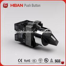 Plastic led pushbutton switch