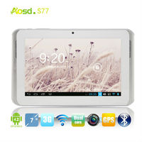 "shenzhen rising electronics tablet 7"" hd android 4.2 2sim 3g gsm gps S77."