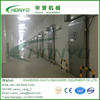 Blast freezer room door manufacturer