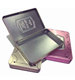 rectangular make up box eyeshadow palette tin with magnet