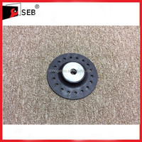 "4-1/2"" Turbo Backing Pad with cooling holes"