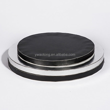 wholesale round black corrugated cake drum