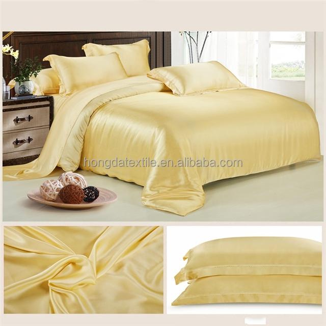2016 wholesale 100% Mulberry silk duvet cover set, comforter set, bedding set