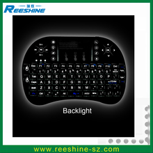 Rii i8+ Mini Wireless 2.4G Backlight Touchpad Keyboard