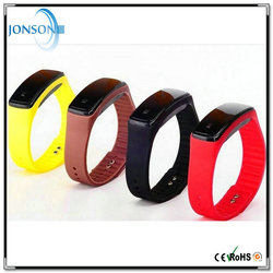 New design LED trendy thin rubber kids waterproof silicone straps for watches