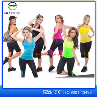 women weight loss waist training sport slim body shaper fitness neoprene body shaper vest