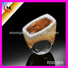 CLASSIC ALLOY RING FULL WITH RHINESTONES,CHINA FACTORY WHOLESALE TITANIUM RINGS