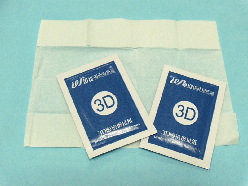 Lens Cleaning Paper, Lens Cleaning Tissue with OEM