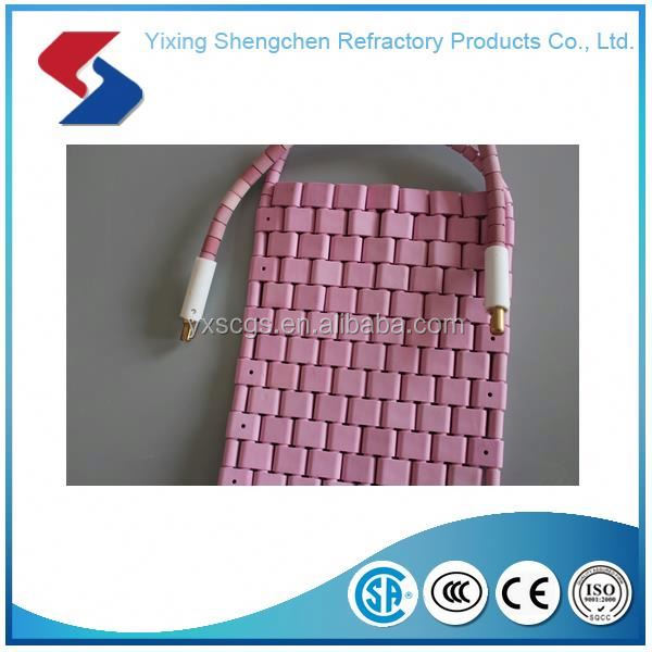 Outlet Customized flexible ceramic pad heater element