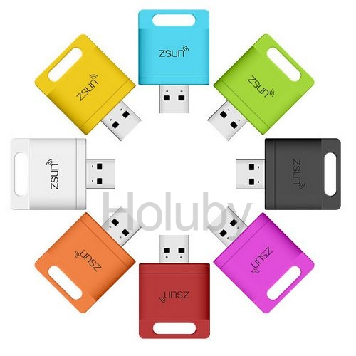 Zsun Wireless Wifi Card Reader Extended Phone Memory U Disk Mobile Storage USB Flash Drive For Android/IOS/Windows Phone