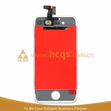 HCQS Shenzhen manufacturer for Apple Iphone 4s lcd screen assembly touch screen for apple iphone display repair parts