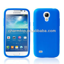 Various colors silicone case for Samsung Galaxy S4 Mini i9190