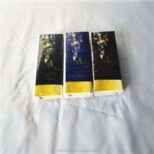 Promotional facial tissue 21*21 standard pocket custom logo softness paper