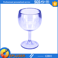 3oz wine glass cup,unbreakable plastic wine glass,glass look plastic cup