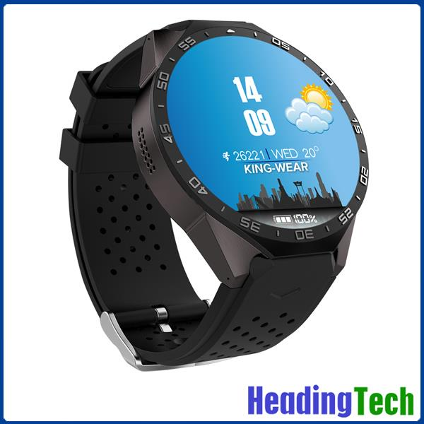 China wholesale Smart Watch KW88 New Smart Watch Cell Phone 3G WCDMA /GSM