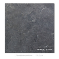 Chinese Honed Bluestones Decorative Outdoor Garden Stone Tile
