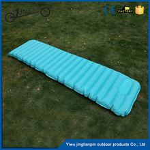 Carries ultralight TPU inflatable sleeping pad cooling joinable indoor fashion design pvc air mattress