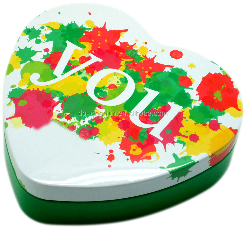 Competitive price high quality candy box heart shape wedding decoration & gift box