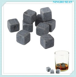 Customized Whisky Chilling Rocks in Gift Box Whiskey stone | chilling stone
