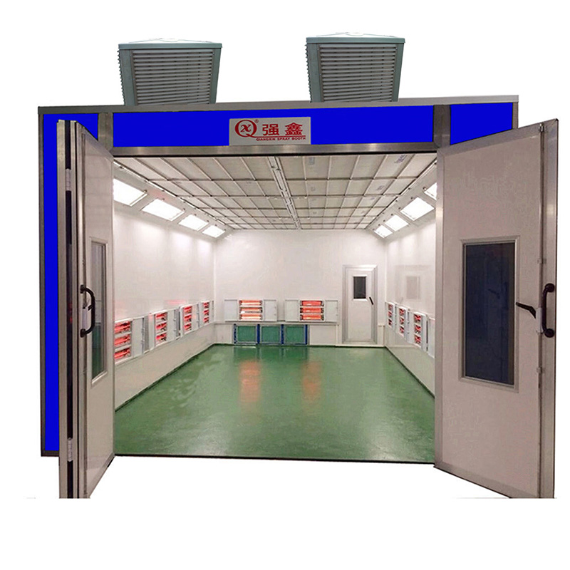 CE Certificated Good Quality Infrared Light Heat Car Spray Bake Paint Booth