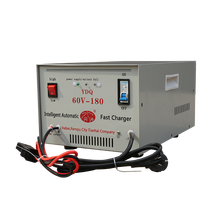 High frequency fast iron portable 24V electric car battery charger