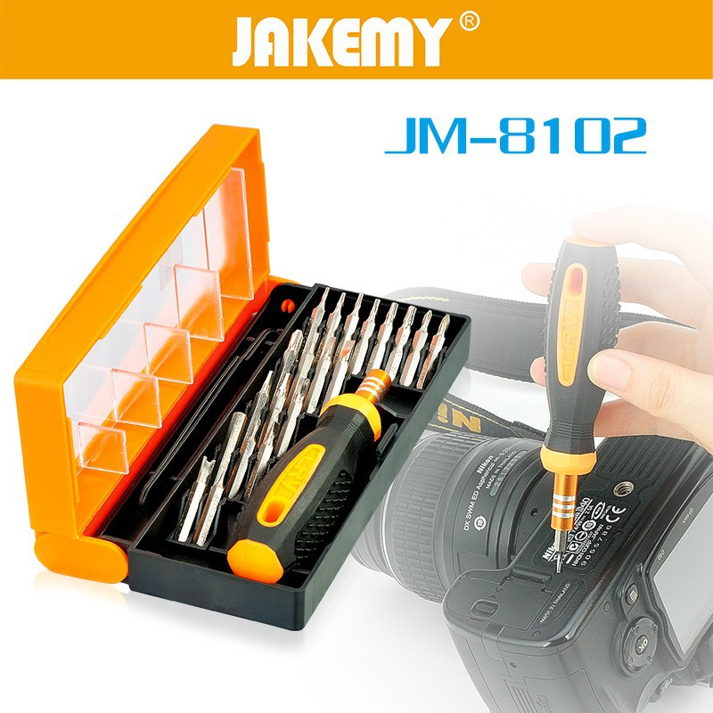 Hot sale 22Pcs Home use non-slip handle screwdriver set box