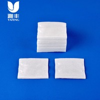 100% Pure Cotton Square pad manufacturer for cosmetic needs