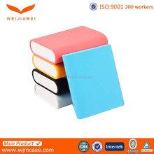 colorful silicone power bank case