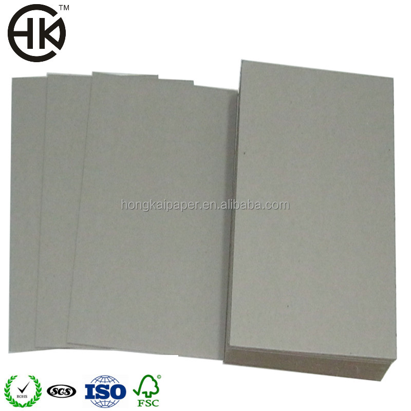 recycle 1.5mm grey color cardboard carton paper