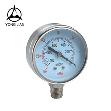 High quality durable using various natural gas pressure gauge