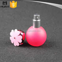 30ml wholesale cute fancy ball shape refillable perfume spray bottle for perfume