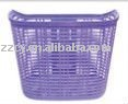 plastic bicycle basket/modern bicycle basket/rattan bicycle basket