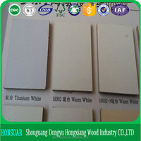 manufacturer white/grey melamine/laminated MDF boards good quality for funiture