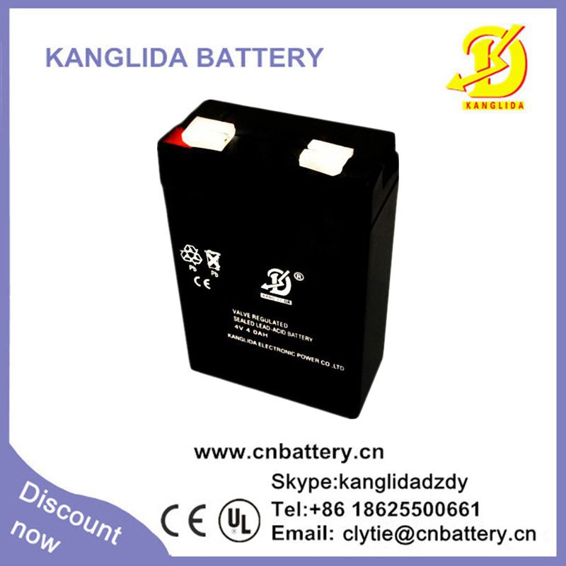 4v 4ah rechargeable battery 4ah 4v secondary cell