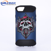Custom protective tpu pc back cover case for iphone 8 case, oem tpu pc slim fit armor