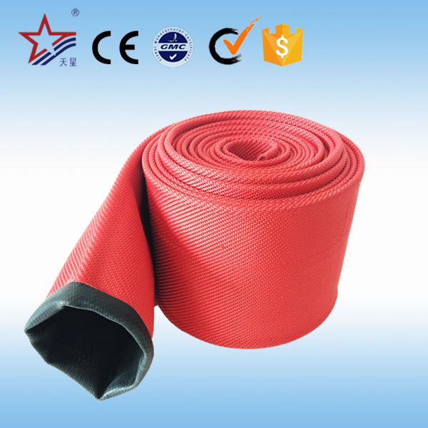 High pressure fire fighting lay flat fire hose with CE