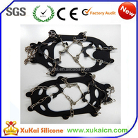 fashion silicone rubber snow shoe covers with factory price