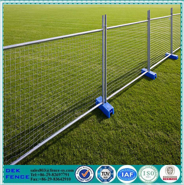 Used Temporary Welded Metal Fence Stand Panels For Sale