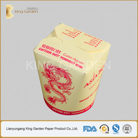 Double PE Heat Insulation Hot Food and Noodle boxes