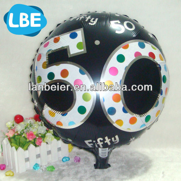 "18"" round shape adult party balloons"