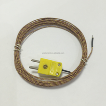 plug connector thermocouple K type temperature sensor