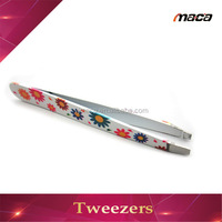 TW1178 wholesale popular cute dressing eyebrow tweezers
