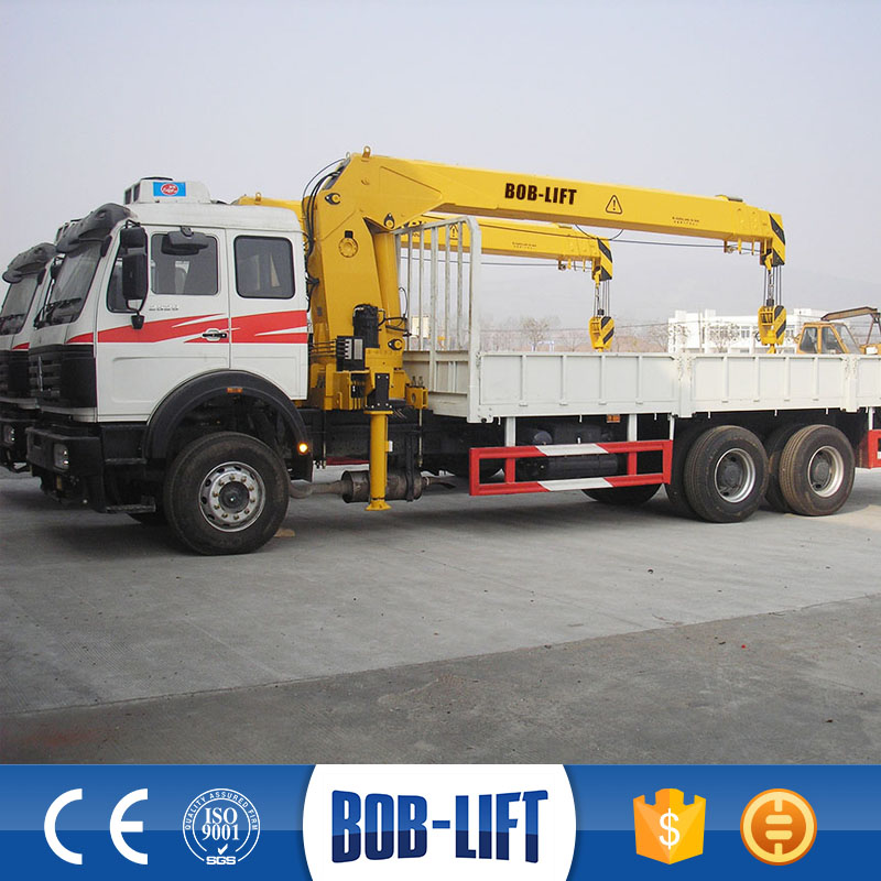 Made in China Telescopic Boom Truck Crane 12t for Sale
