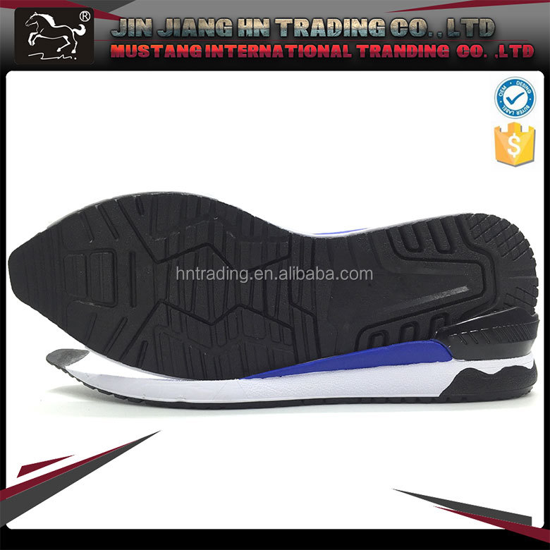 OEM high quality anti wrinkle sneaker shoes EVA outsoles